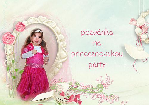 Pozvánka na princeznovskou párty