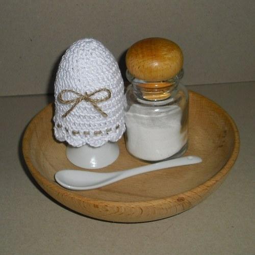 Čepička na vajíčka s mašlí