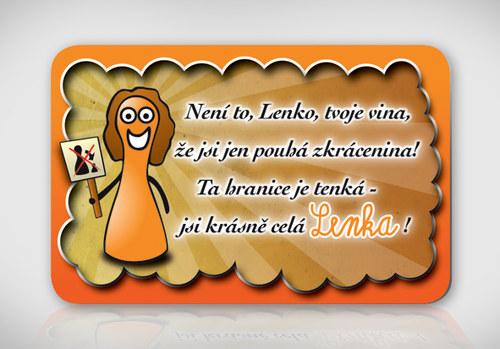Poetická magnetka se jménem Lenka