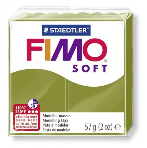 Fimo Soft / Zelená olivová (57)
