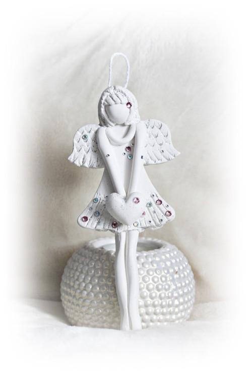 Anděl touhy a splněných přání....s kamínky