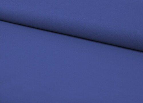 Látka jednobarevná MODRÁ NIVEA ATEST DĚTI 0,5m