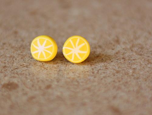 náušnice citrón