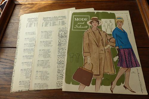 Mode und Schnitt 70/1962, móda, střihy!