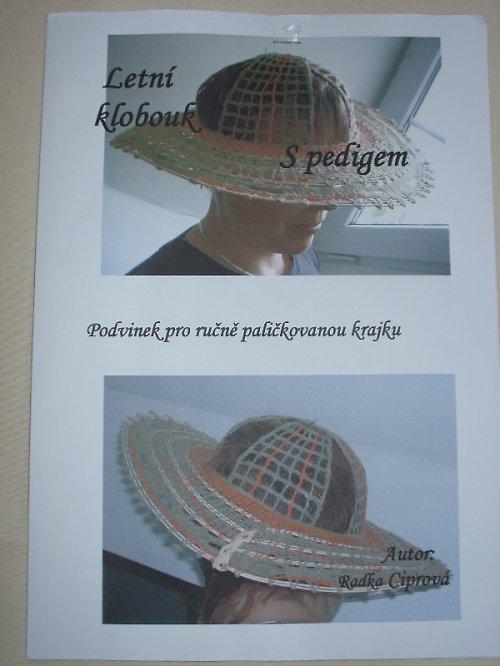Podvinky pro paličkování - letní klobouk