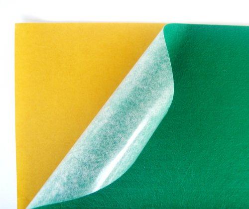Samolepicí plsť barva č.7 - zelená