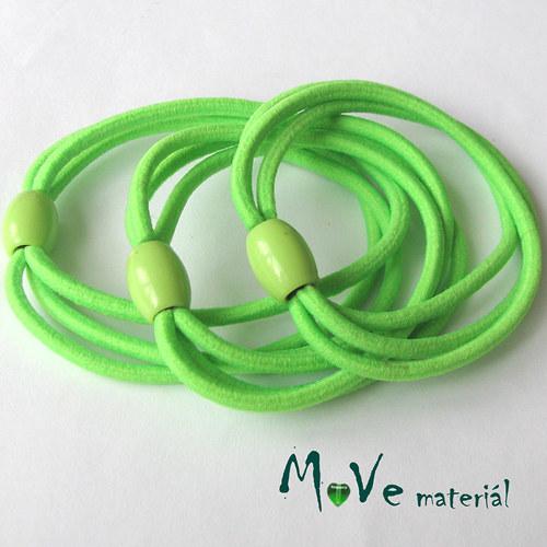 Sada kulatých gumiček na úpravu, 3ks, zelená