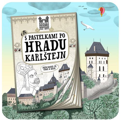 S pastelkami po hradu Karlštejn