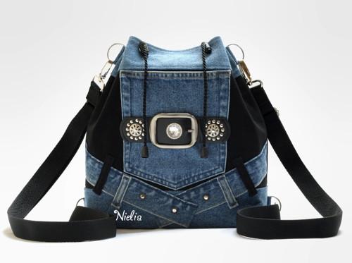 S opaskovou kapsou IV (kabelko-batůžek)
