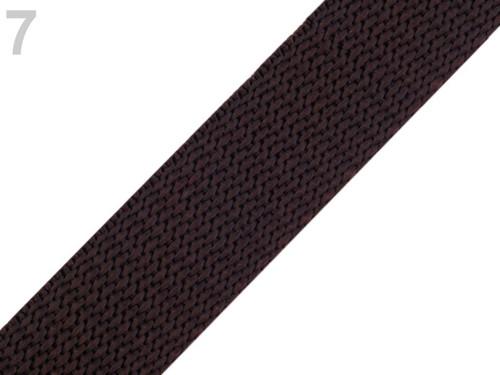 Popruh š.20mm (5m) - chocolate