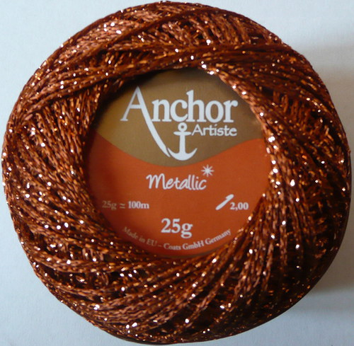 Anchor Artiste Metallic - bronzová