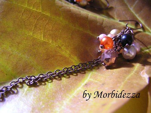 Náušky Podzimní kráska SLEVA