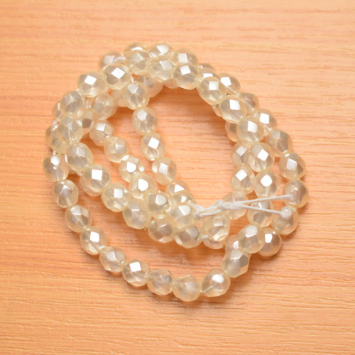 Voskované perly 6 mm
