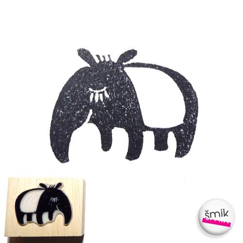 tapír dospělec - razítko