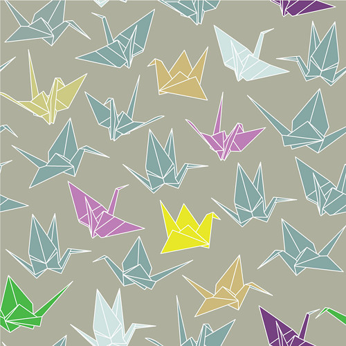 Tapeta Origami