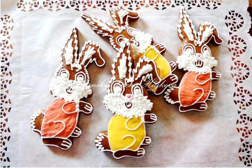 Veliký velikonoční zajíc - barevný