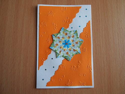 Přání oranžové B
