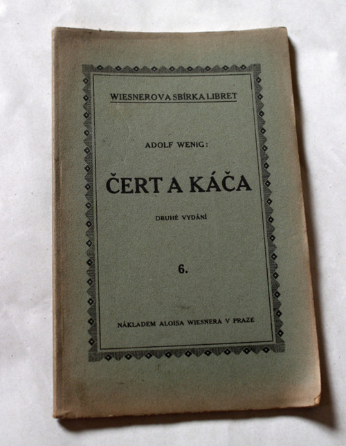 Čert a Káča - Adolf Wenig
