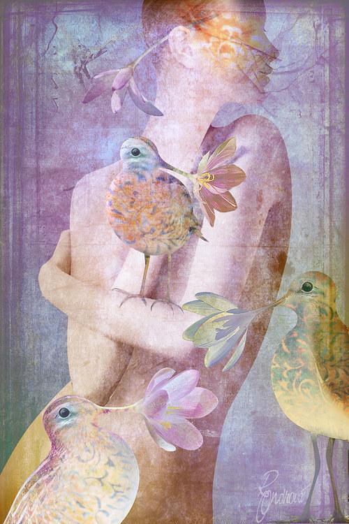 Slaviči jara (fialová)