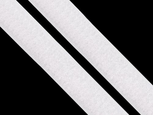 Suchý zip, 20mm, barva bílá