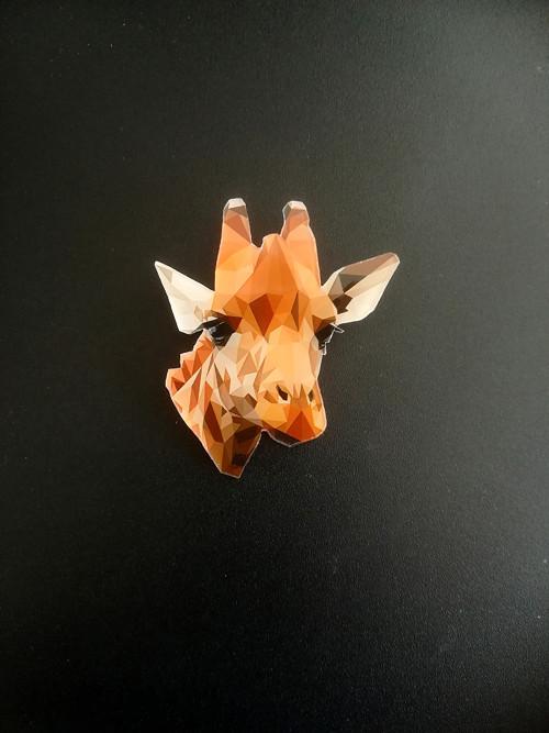 Žirafka Žofka - autorská, originální brož
