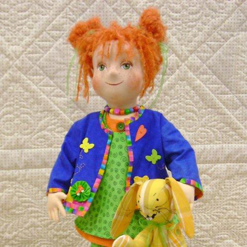 Bábika Rozárka s králičkom Hugom