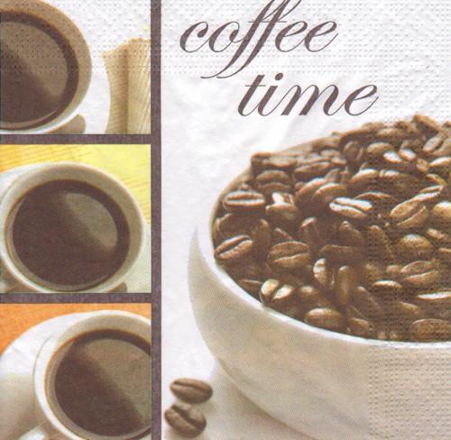Ubrousek - Coffee Time (3 ks - AKCE)