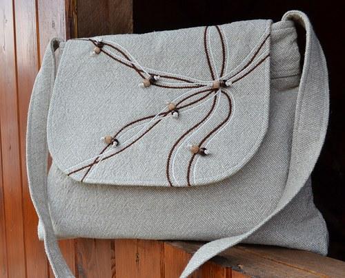 v přírodním...kabelka, taška