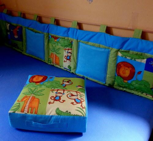 Kapsář za postel 160x50 cm...safari