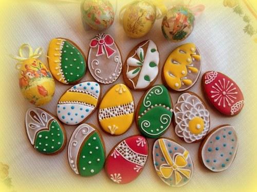 velikonoční kraslice - malé