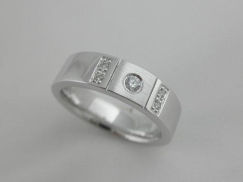 """Snubní prsteny \""""Kamínková elegance\"""""""