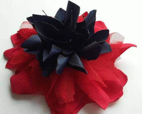 Červeno-modrá....