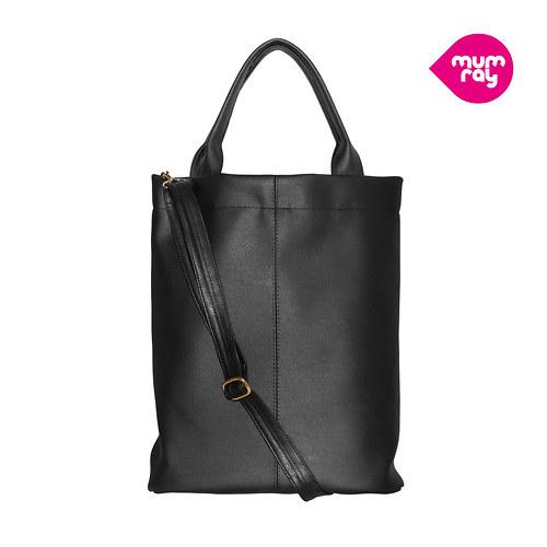 plain bag black