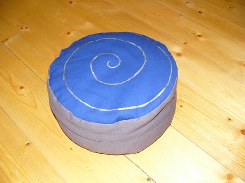 Pohankový polštářek, sedák, bobík, Zafu,12 cm