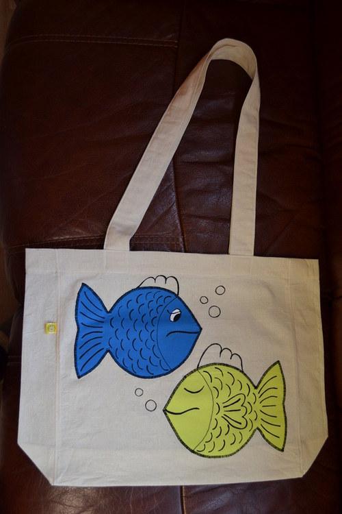 "Nákupní taška \""Rybovi\"""