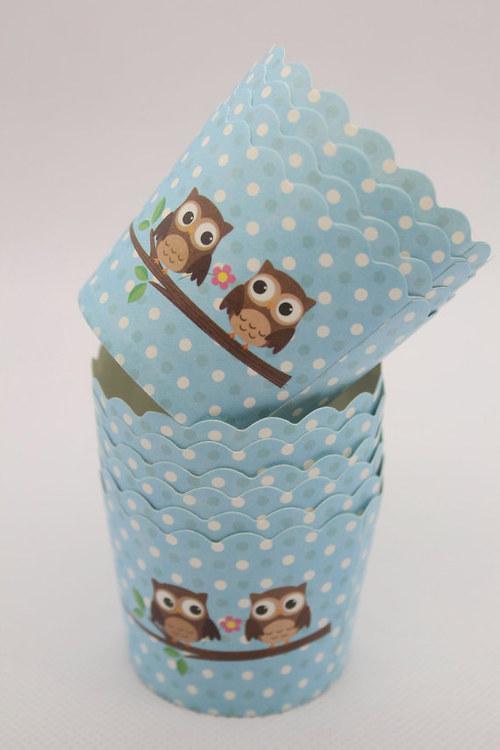 Košíček na muffiny/cukrovinky/zmrzlinu -10 ks