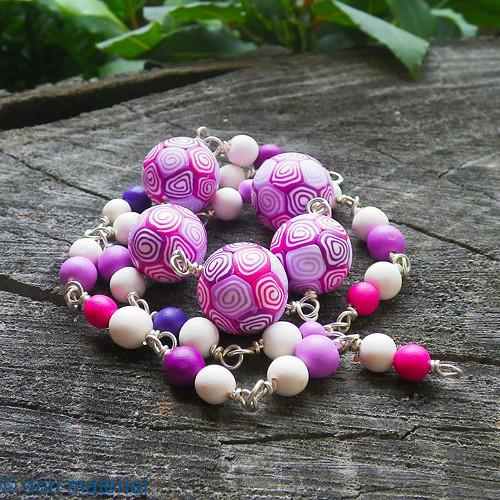 ružové kudrlinky / dlhé