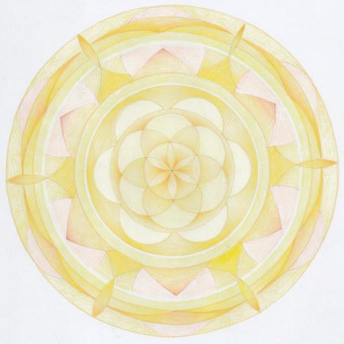 Mandala - 3.čakra - solar plexus