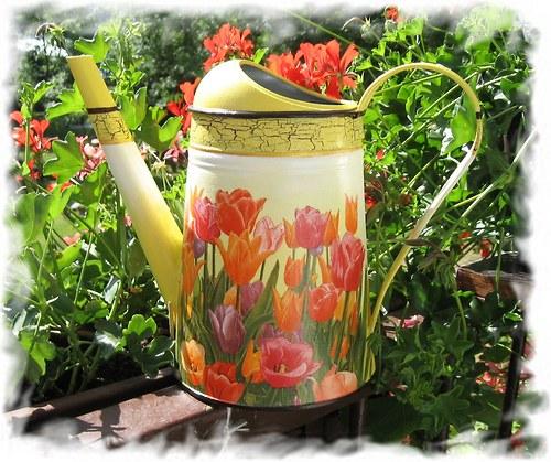 č.54 - tulipány na žluté