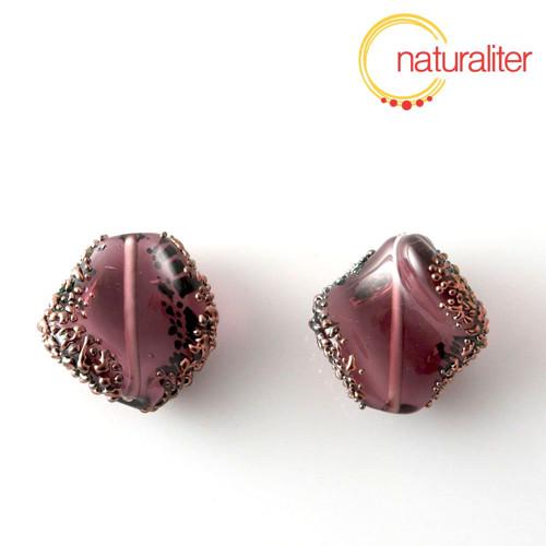 Vinutá perla fialová