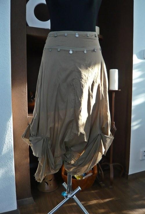 Kalhotová sukně orientální - sleva z 555,-Kč