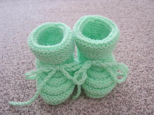 Pletené papučky