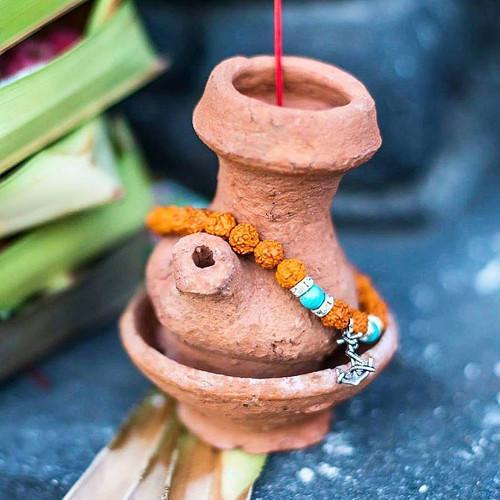 Rudraksha náramek s kotvou