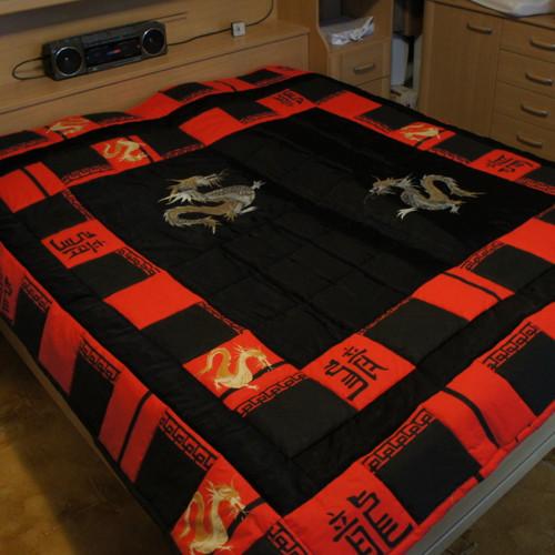 Patchworková dračí deka na přání