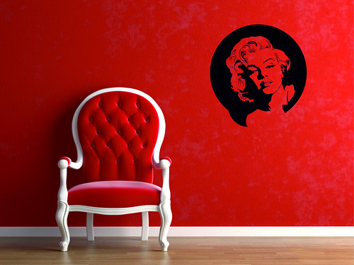 Samolepka na zeď - Marylin Monroe 2