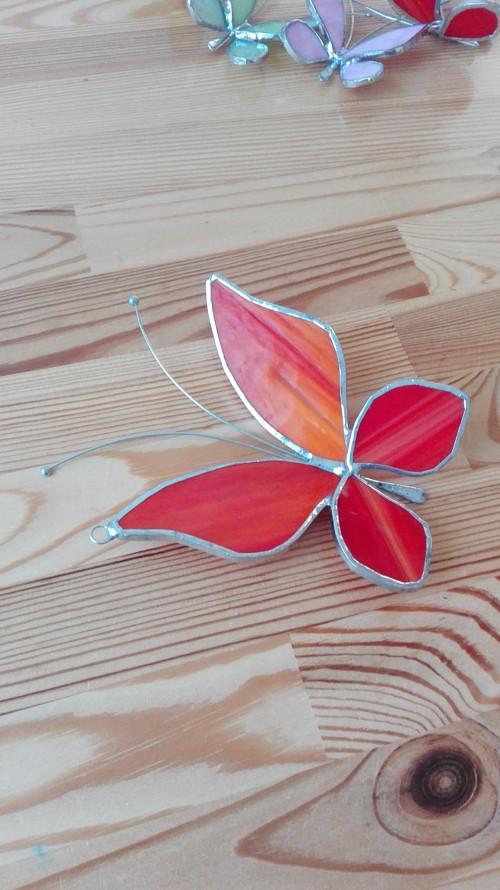 Motýl 3D velký