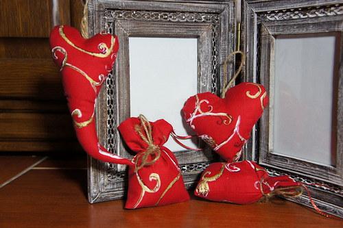 Vánoční potěšenív červené.....
