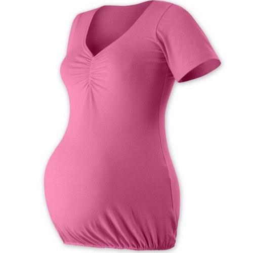 Těhotenská tunika VERONIKA- růžová