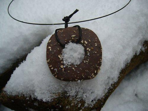 Kokos na sněhu