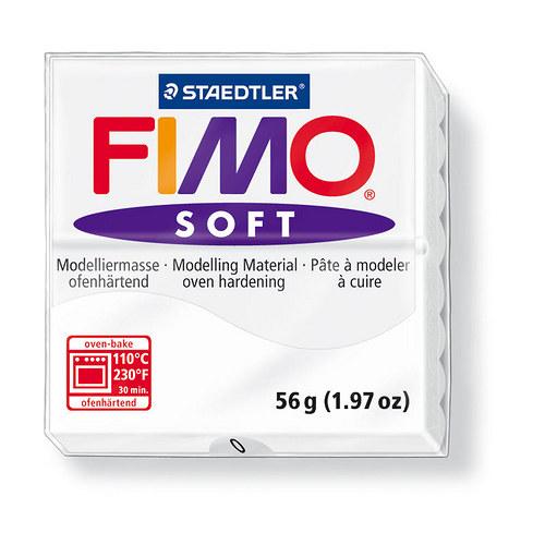 Fimo soft bílá 0